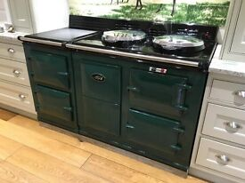 AGA ELECTRIC NIGHT STORAGE 4-OVEN 2 HOT PLATES FACILITY
