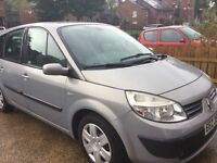 Renault scenic exp soon 16v 7 seater