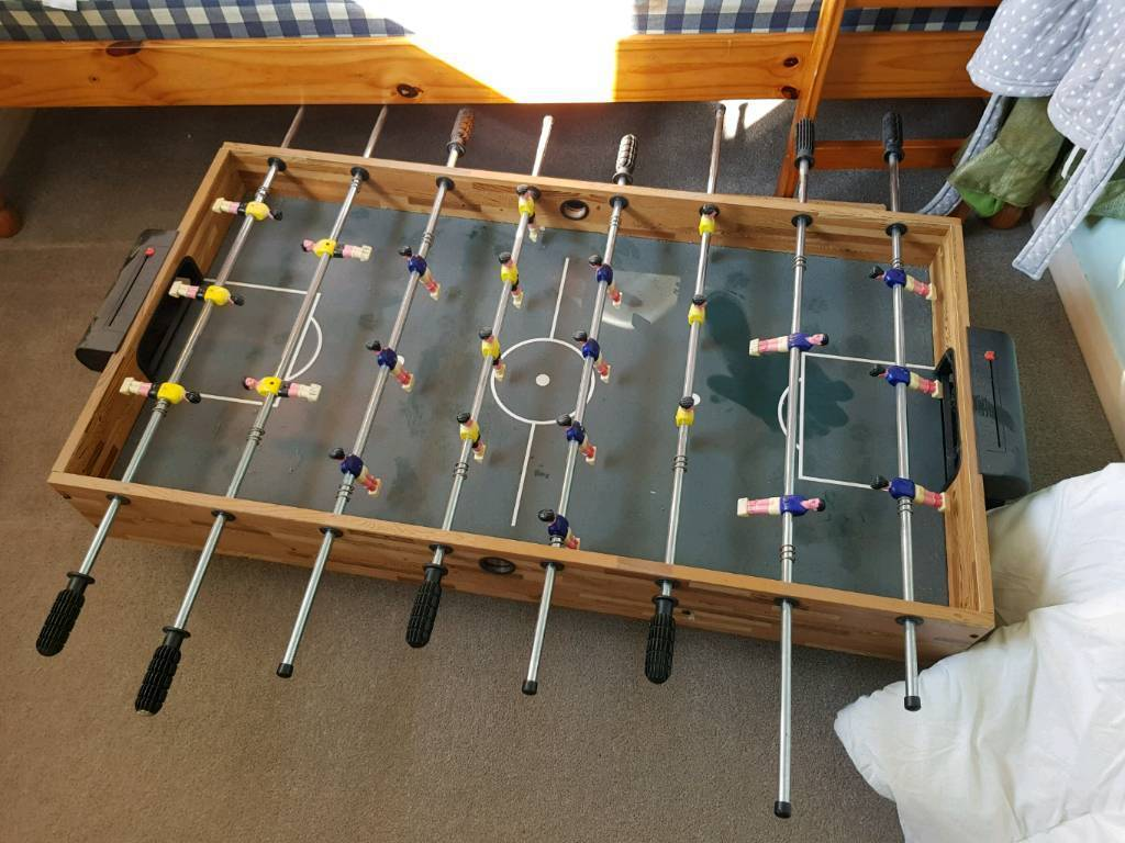 Games/football table urgently need gone
