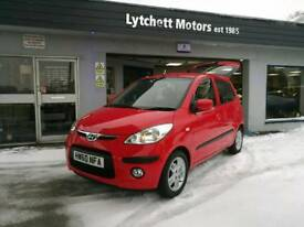hyundai i10 1.2 1 lady owner 71k ideal1stcars tax£30 60mpg possible FullMWarrantyMOTService EST1985