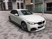 2012 BMW 330d M-Performance Edition Auto Alpine White Led Headlights Sat Nav Heated Leather 53K