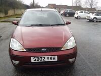 2002 FORD FOCUS 1.6 ZETEC 12 MONTHS MOT FULL SERVICE HISTORY LOADS OF RECEIPTS BARGAIN