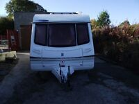 Abbey Belmont 470 SE 2-berth Caravan 2001 with motor mover