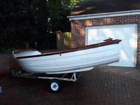13 Ft Fishing Boat and Outboard Engine For Sale