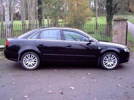 2006 Audi A4 SE 2.0 140 4 Door Saloon Black