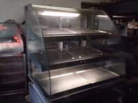CATERING RESTAURANT KITCHEN CANTEEN CAFETERIA CAFE DISPLAY CABINET COMMERCIAL CUISINE