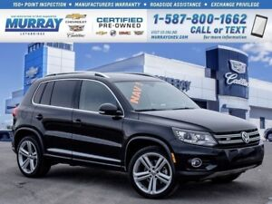 2015 Volkswagen Tiguan Highline**Sunroof!   Back Up Camera!**