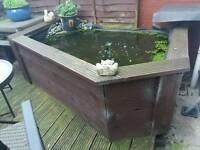 Garden pond for sale