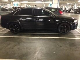 Audi A4 TFSi 2.0 (Disabled vehicle partly modified for privacy)