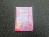 Hopes & dreams A6 notebooks/notepads
