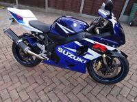 Suzuki GSXR 600 only 10330 miles very good condition