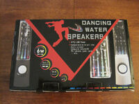 BRAND NEW BOXED Dancing water speakers - 2 sets of