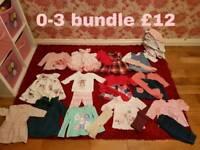 0-3 clothrs bundle