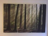 Large canvas print