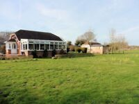 TWO detached 2-bedroomed bungalows and Cabin within 1.3 acres of land. Canterbury CT3 4AW