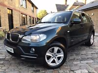 BMW X5 3.0 30d SE xDrive 5dr£11,990 p/x welcome ** 7 SEATER**FULL S/H** 2007 (07 reg), SUV