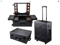 New Hollywood lights electric professional make up trolley