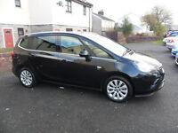 2013 Vauxhall Zafira Tourer 1.4SE black (Automatic) !!!