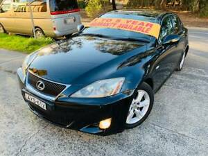 2006 Lexus is250 Luxury LOGBOOKS 2 Keys LOW KS MAGS Leather A1 Sutherland Sutherland Area Preview