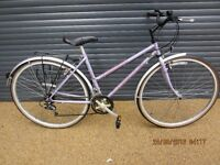 "LADIES CLAUD BUTLER CLASSIC LIGHTWEIGHT TOWN BIKE IN VERY GOOD USED CONDITION.. (18"" / 46cm. FRAME)."