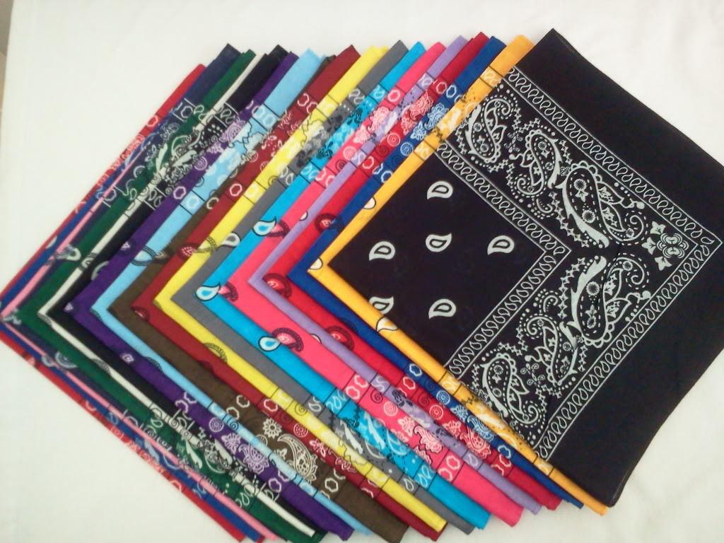 Cachemire bandana unisexe coton pur carré écharpe modèle