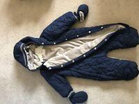 Next Snow Suit 12-18months