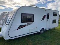 2011 Elddis Avante 554 FIXED BUNK BEDS