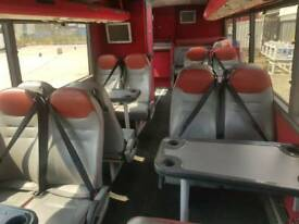 Leather seats for Motorhome or horsebox conversion