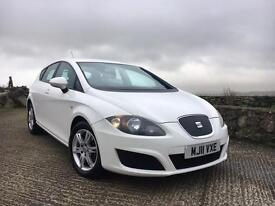 2011 Seat Leon 1.6 Tdi Ecomotive Only 42k Miles. Finance Available