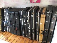 Fender Stratocaster / Telecaster Guitar Hard Cases - 1980's/90's/2000's/2010's