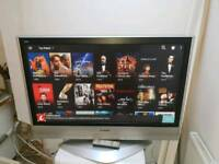 """Panasonic 42"""" Smart Plasma TV FreeView Built In 2 HDMI HD Ready 720p Others Available"""
