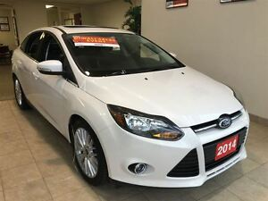 2014 Ford Focus TITANIUM NAVI LEATHER REAR CAM ALLOYS