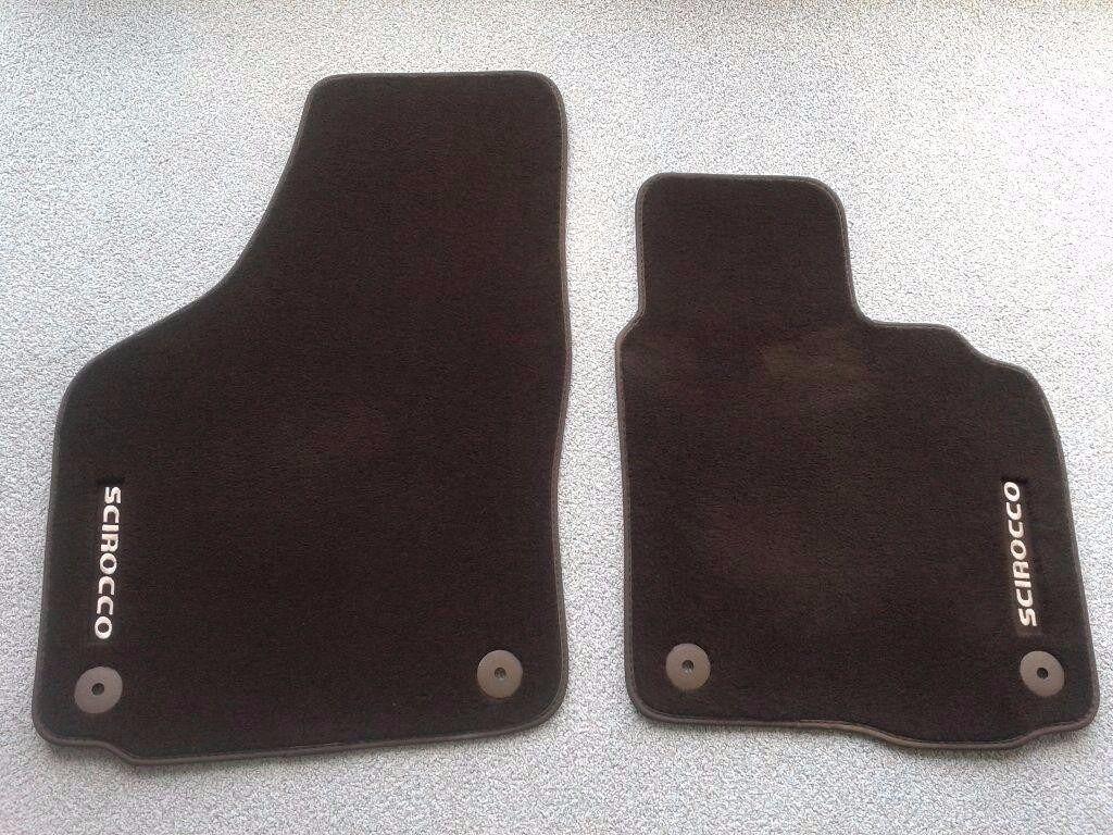 Scirocco Carpet car mats