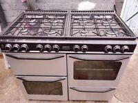 rangemaster gas cooker 100cm free delivery ..07867030779