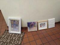 Signed art nicely framed central London bargain