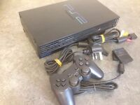 PS2, 2 Controllers, 9 games and all leads.