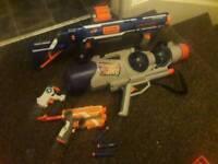 nerf rampage gun, water guns ect