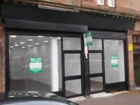 RETAIL UNITS TO LET, SOUTH SIDE OF GLASGOW, MOUNT FLORIDA (£150.00 PW, £175.00 PW)