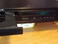 Cambridge Audio CD5 compact disc player in black.