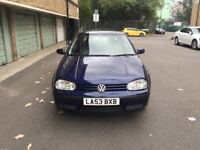 VOLKSWAGEN GOLF 1.4 MATCH (2004), 75K, NONE OWNER CAR
