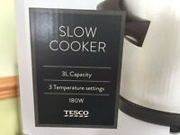 Tesco 3L Slow cooker