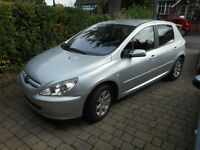 Peugeot 307 reduced for quick sale - service history, 4 new tyres, good condition, clean. Bargain