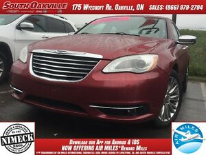 2011 Chrysler 200 Limited | BLUETOOTH | HEATED SEATS