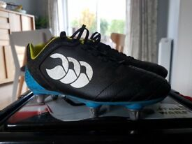 Canterbury kids rugby boots size 1