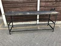 Metal Workbench and vice