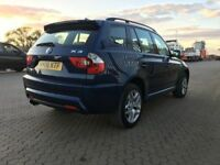 2006│BMW X3 3.0 d M Sport 5dr│2 Former Keepers│Full Service History│Hpi Clear│Leather Seats│2 Keys