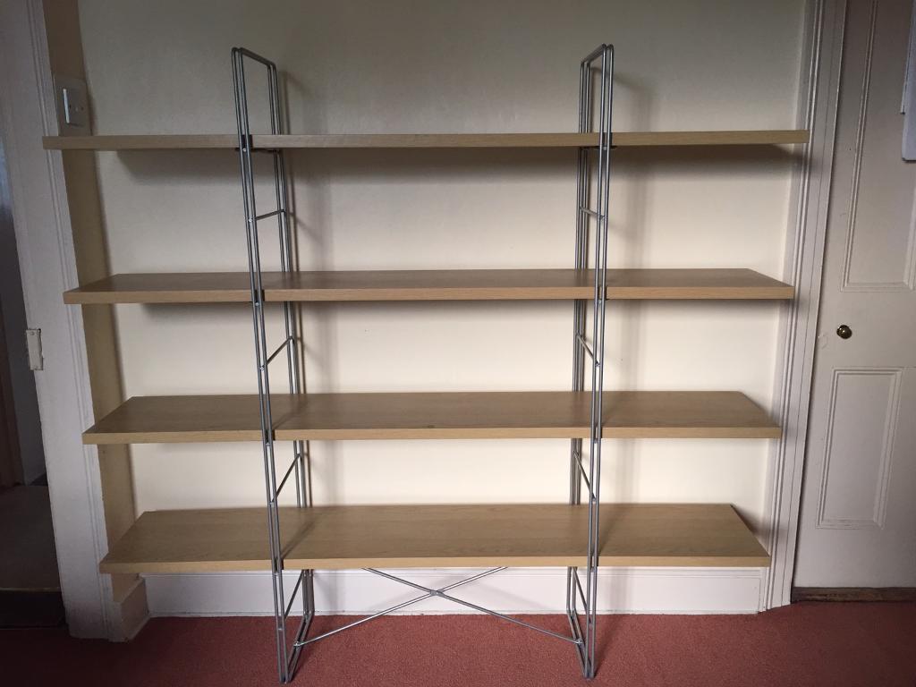 Ikea Enetri Open Shelving Unit In Beech Finish