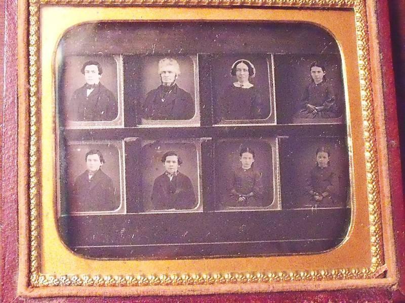 historical daguerreotype photograph John Brown Family
