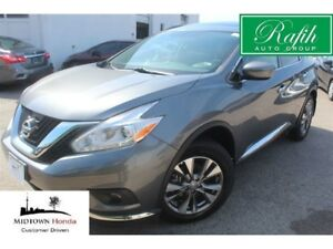 2017 Nissan Murano SV AWD-Navigation-Rear camera