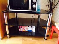 Nice black Tv trolley for sale only for £25.